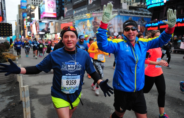 2015 United Airlines NYC Half Marathon